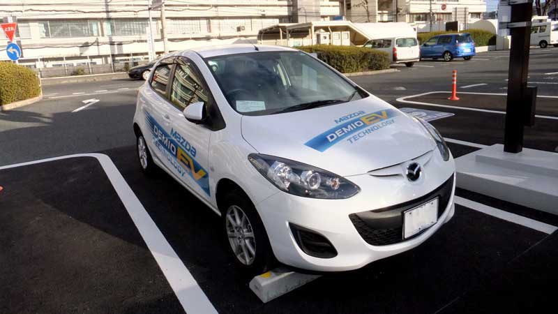 Mazda did release a Demio EV in 2012 but it was limited to 100 vehicles. Source: Wikicommons