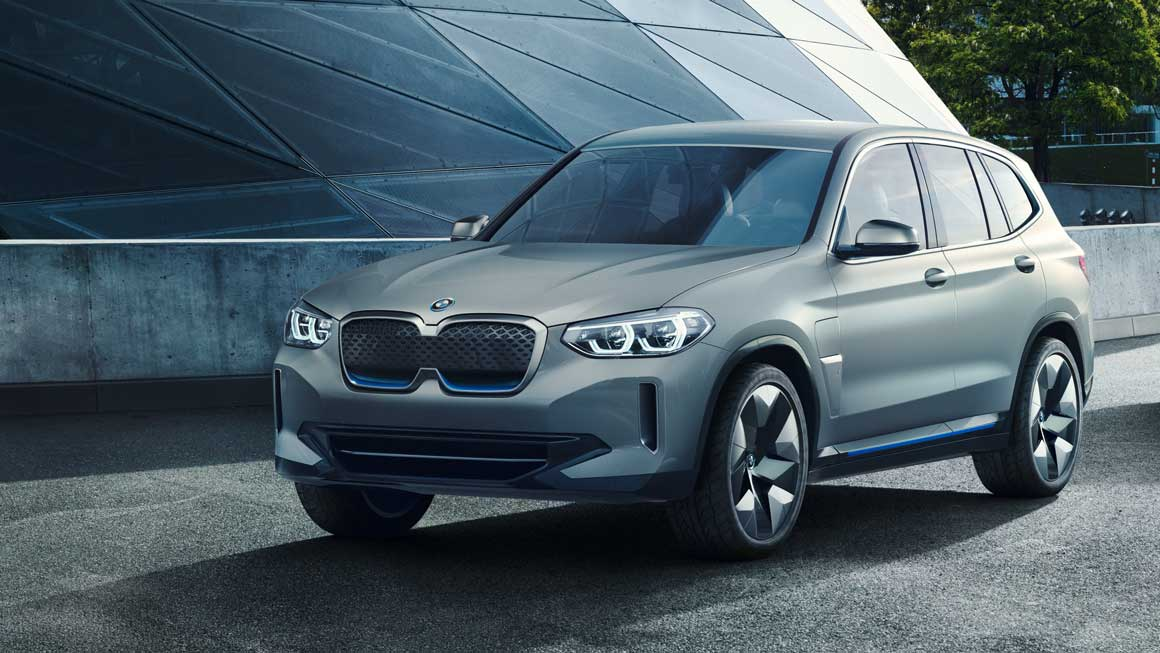 BMW iX3 as a concept in 2018. Source: BMW