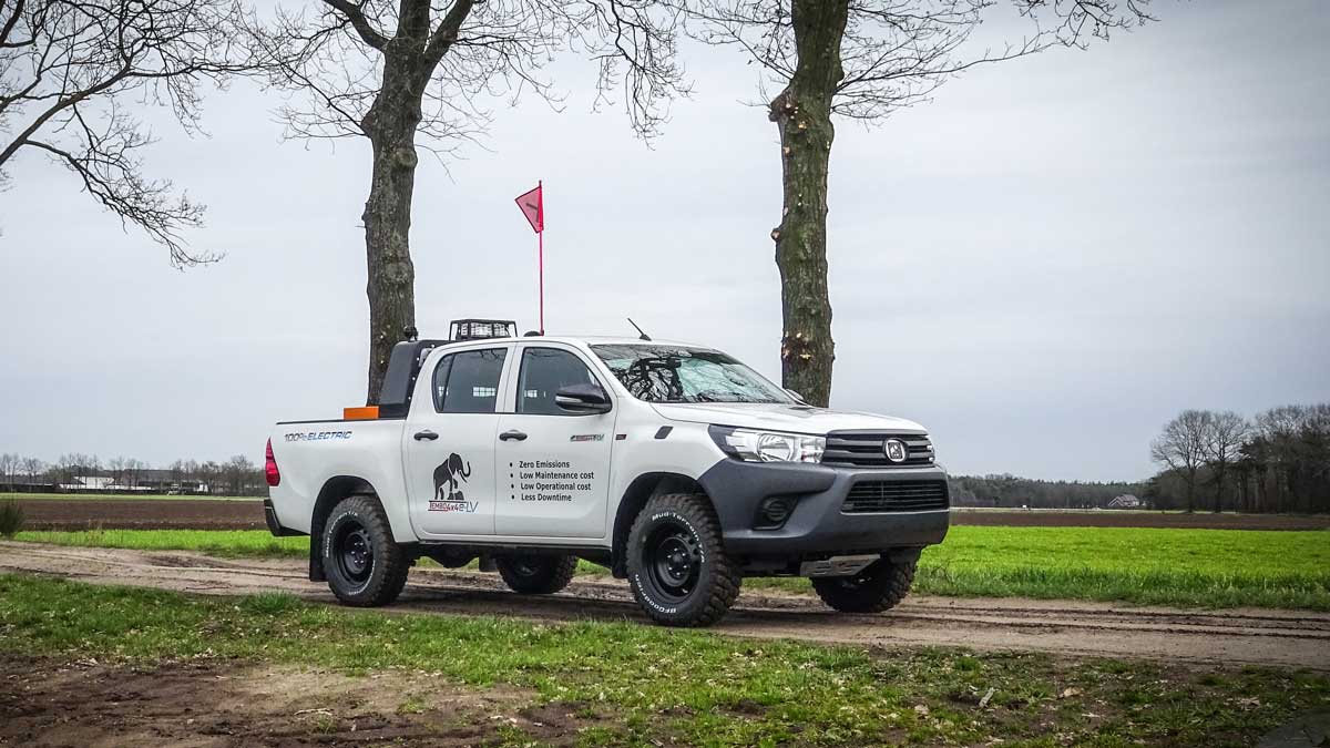 An electric Hilux in Sweden. Source: VivoPower