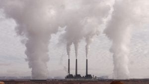 legal chart emissions increase power station coal stacks