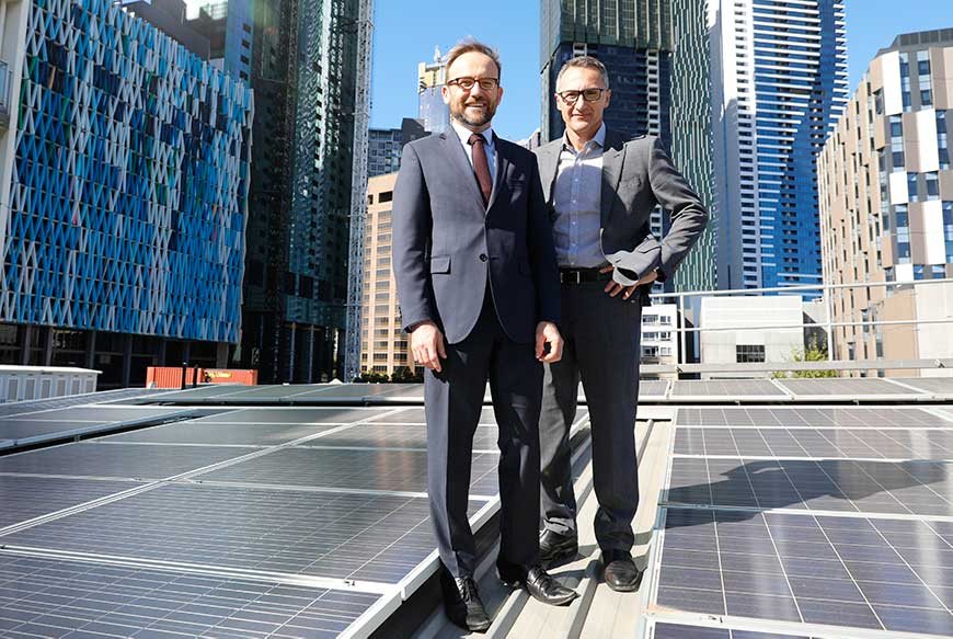 Adam Bandt Richard Di Natale Greens energy climate policy coal prohibition - optimised