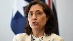 Victorian energy minister Lily D'Ambrosio. (AAP Image/Dan Himbrechts).