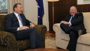opposition wind farm crookwell maurice newman with tony abbott - optimised