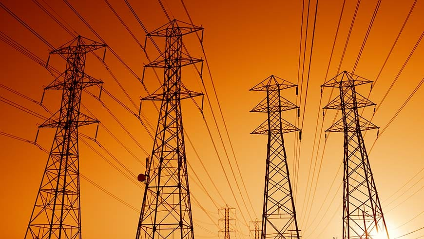 subsidies network Electric Power Transmission Lines at Sunset demand response - optimised network ACCC