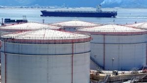 Large Oil Tank and Oil Ship reserves - optimised