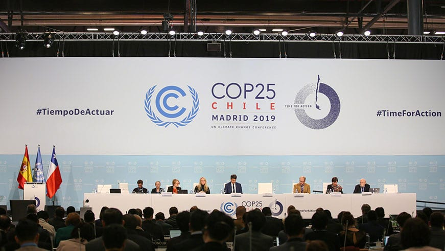 CO25 Madrid climate change talks united nations