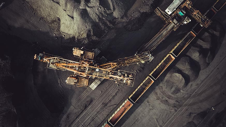 Canva - Coal mining from above - optimised brown coal hydrogen