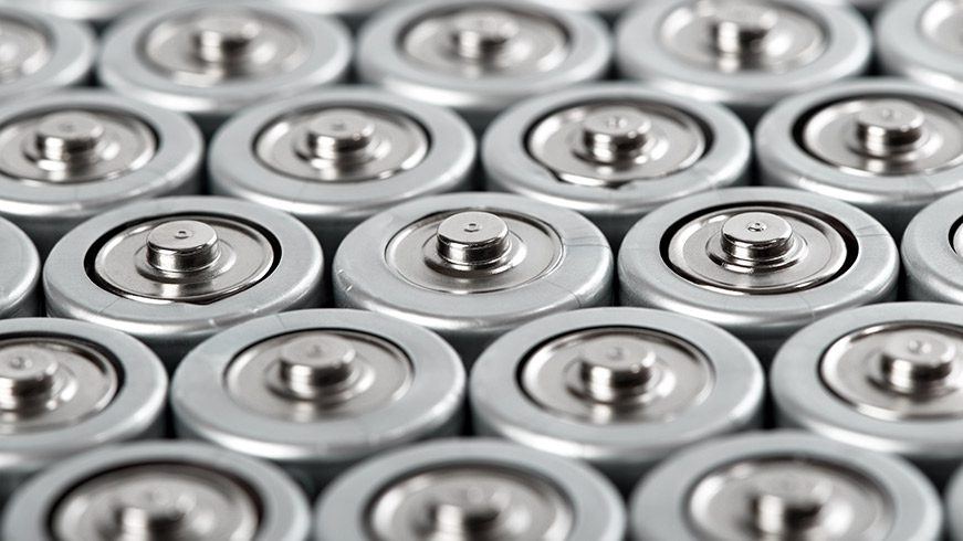 manufacturing Canva - cylindrical batteries set close-up - optimised
