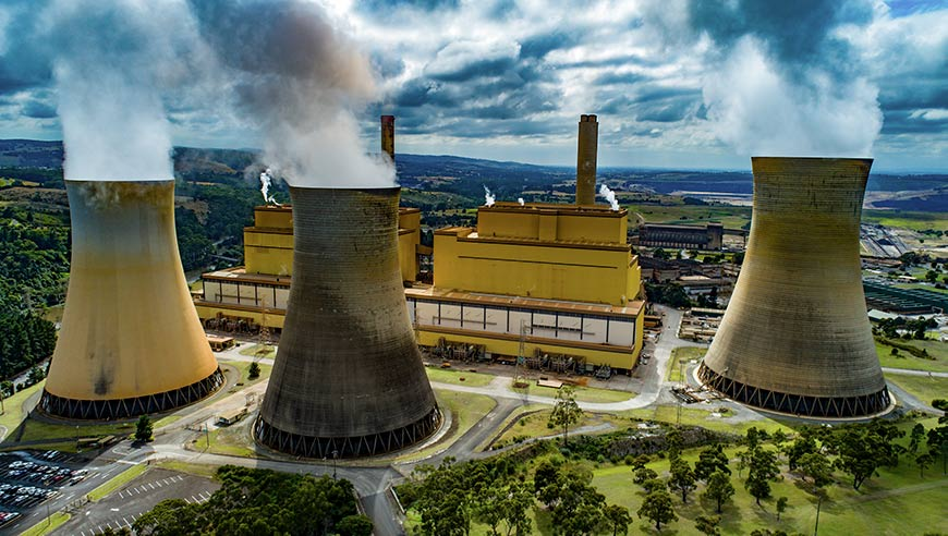 Yallorn power station - optimised emissions carbon price pricing
