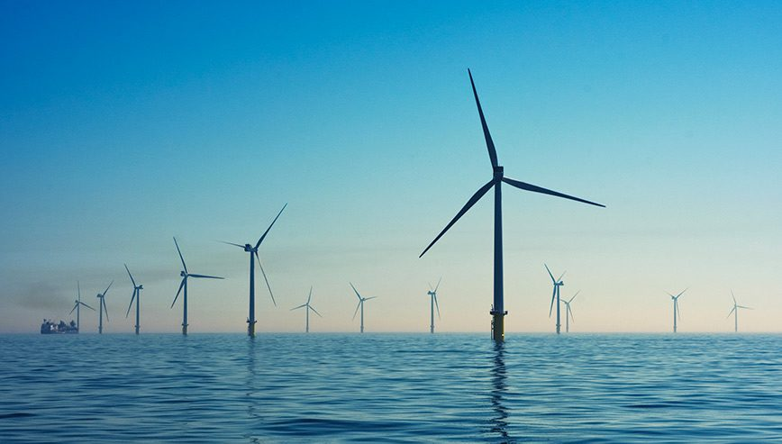 offshore wind from ocean - optimised