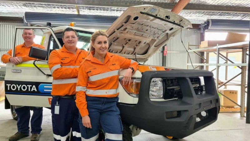 bhp light electric vehicle trial