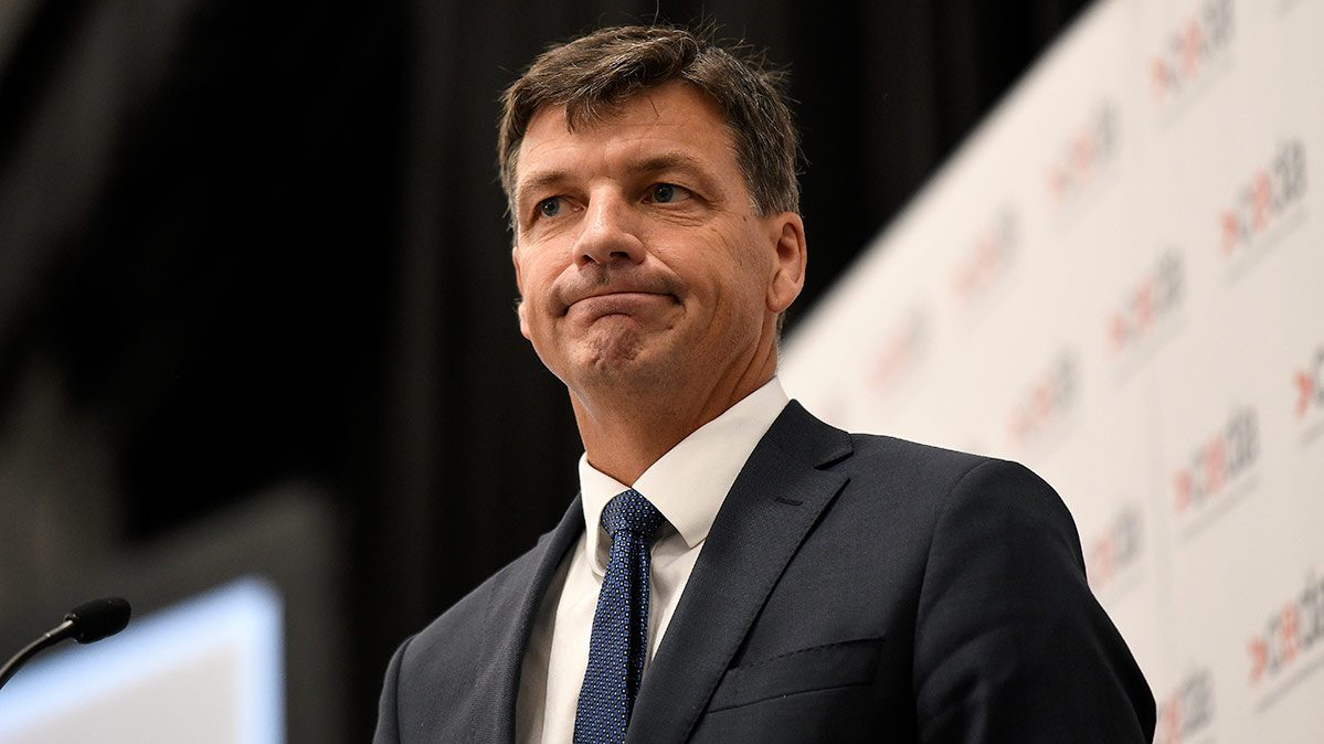 Federal energy and emissions reduction minister Angus Taylor (AAP Image/Bianca De Marchi).