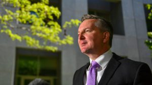 Labor climate change and energy spokesperson Chris Bowen. (AAP Image/Mick Tsikas).