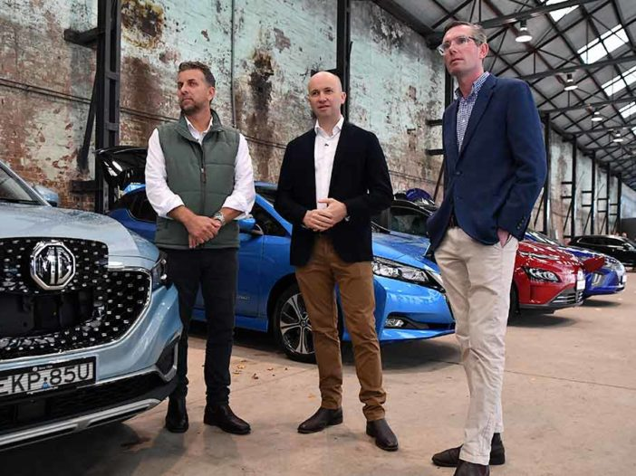 nsw government EV policy budget announcement - aap - optimised