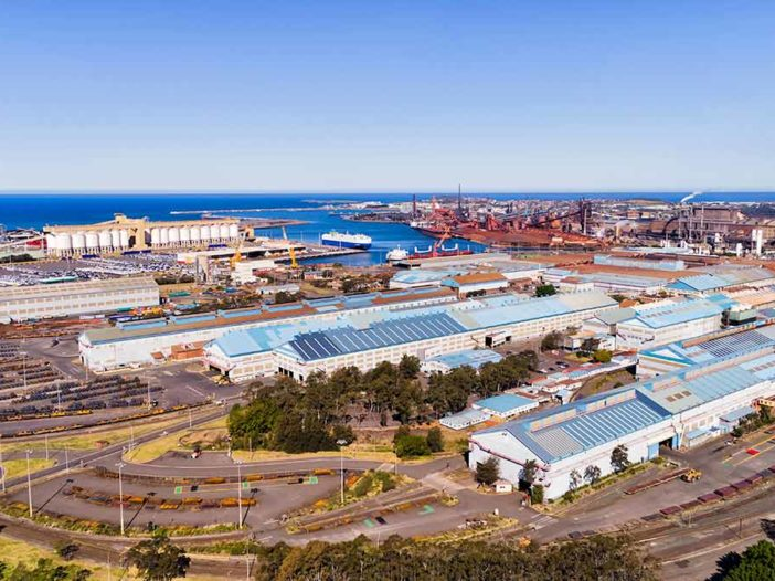 Port Kembla industrial steel mills nsw government squadron energy - canva - optimised
